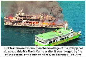 「MV Doña Paz」の画像検索結果