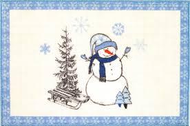<b>Коврик Avanti Let it</b> Snow 13321J белый, голубой - купить в ...