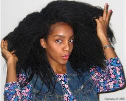 Cipriana long natural hair