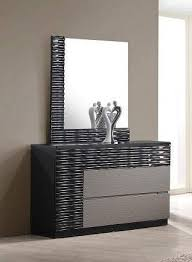 contemporary roma dresser with black and grey lacquer finish prime b131t modern noble lacquer dining table