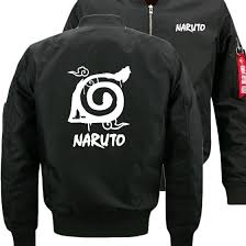 Naruto Uzumaki Naruto <b>Fashion</b> Bomber Flight Flying Jacket <b>Winter</b> ...
