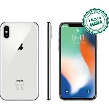 Renewed <b>Grade</b> A, Apple <b>iPhone X</b>, 256 GB, Silver, 4G LTE - All ...