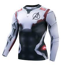 NEW <b>Marvel</b> Hero <b>Tshirt 3d</b> long sleeve Avengers Endgame ...