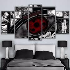 <b>Modular</b> Wall Art Pictures <b>Canvas HD</b> Printed Anime Painting ...