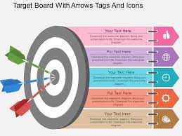 circular bulls eye process powerpoint presentation diagrams icons       style circular