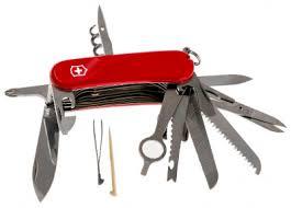 <b>Нож перочинный VICTORINOX</b> Evolution 28, 85 мм, 23 функции, red