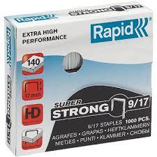 Купить <b>Скобы Rapid 9/17 1000</b> шт | Скобы Rapid (Швеция ...