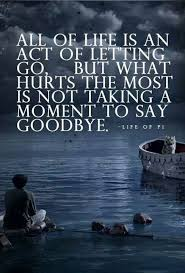 Not saying goodbye - life of pi   Quotes :)   Pinterest via Relatably.com