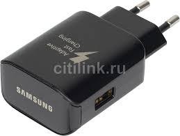 Сетевое <b>зарядное устройство SAMSUNG EP-TA300CBEGRU</b> ...