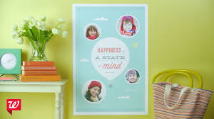 Create Custom Photo <b>Posters</b> at Walgreens - YouTube