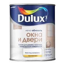 <b>Краска</b> для окон и дверей <b>Dulux</b>, белая, 0,75 л - купите по низкой ...