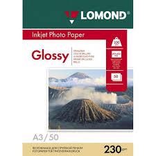 Купить <b>бумагу</b> Фотобумага <b>Lomond A3</b>, 230гр, 50л ...