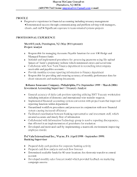 contract accountant resume template contract accountant resume