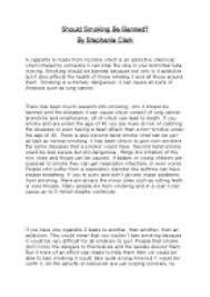 smoking persuasive essay conclusion   writefiction   web fc  comsmoking persuasive essay conclusion