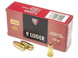 Охотничьи патроны 9 мм Luger Fiocchi <b>FMJ</b> 123 gr 70902200 ...