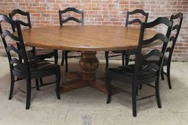 patio table and 6 chairs: large round dining table  chairs archives gt kitchen furniture and