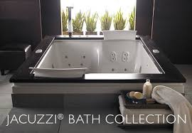 hot tub in bathroom