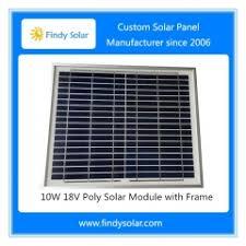 Findy Solar | <b>Solar Panel 10W 18V</b> Multicrystalline | Solar Panel ...