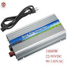 maylar 10 5 30v 1000w solar high frequency pure sine wave grid tie inverter output 90 140v power inverter for alternative energy
