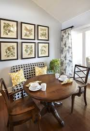 decor dining room table bench