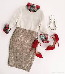 Christmas tartan + <b>sequined</b> skirt // J.Crew Factory flash sale | Cute ...