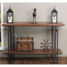 room console iron table
