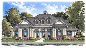 Grand House Plans  amp  Free Shipping    The House DesignersTHD House