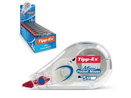 <b>Корректирующая лента Bic Tipp-ex</b> Mini Pocket Mouse 5mm x 5m ...