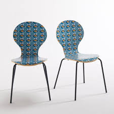 <b>2 стула</b> barting с рисунком набивной рисунок <b>La Redoute</b> Interieurs