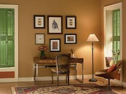 light brick brown best colors for home office