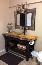 Vanities For Bathrooms 17 Best Ideas About Rustic Bathroom Vanities On Pinterest Barns