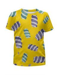 """Детские футболки c уникальными принтами """"сладости"""" - <b>Printio</b>"""