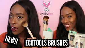 Vegan Makeup brushes! <b>Ecotools Airbrush Complexion kit</b> - YouTube