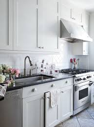 brushed nickel kitchen cabinet knobs view full size gorgeous galley kitchen with crisp white shaker kitchen cabinets with brushed nickel pulls hardware
