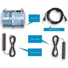 ZONT <b>Mega SX</b>-<b>350 Light</b> - <b>контроллер</b> GSM сигнализации с WEB ...
