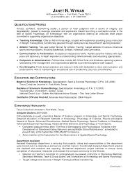 example student resume template good objectives for examples gallery of student resume