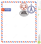Images & Illustrations of air mail