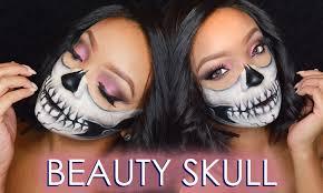 beauty skull make up tutorial