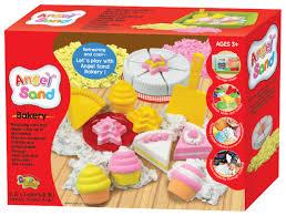 <b>Кинетический песок Angel</b> Sand Торты и пирожные, 3 цвета ...