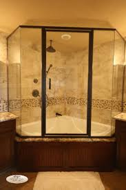 ideas small bathrooms shower sweet: nice corner shower and bathtub combo with glass shower enclosure use j k to