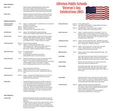 lps honors veterans littleton public schools view the complete list of veterans day celebrations in littleton public schools