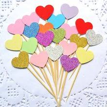 Compare prices on <b>Glitter</b> Heart Topper - shop the best value of ...