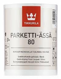 <b>Тиккурила Паркетти</b>-<b>Ясся</b> 80 глянцевый <b>лак</b> для <b>пола</b> - <b>Tikkurila</b> ...