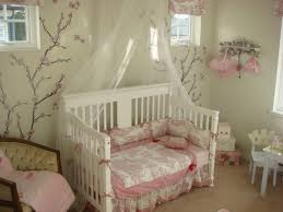 bedroom attractive ideas for baby girl nursery with wall mural decor the simple backyard design baby room ideas small e2