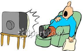 Risultati immagini per snoring in front tv