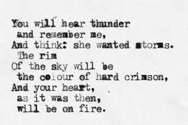 You Will Hear Thunder by Anna Akhmatova - Quotes LOVE