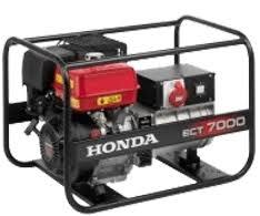 <b>HONDA ECT 7000 K1</b> RG - бензогенератор 7.0 кВА 230/380В