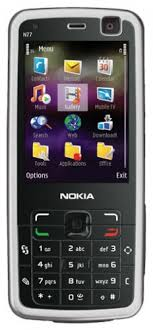 Nokia N77 Phone specs, reviews and features