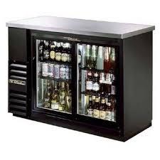 tbb 24 48g sd true sliding glass door back bar refrigerator back bar lighting