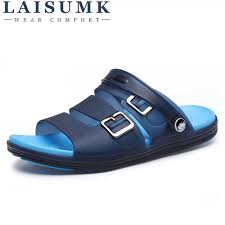 <b>LAISUMK Men</b> Flips Flops Summer Massage Shoes Fashion ...